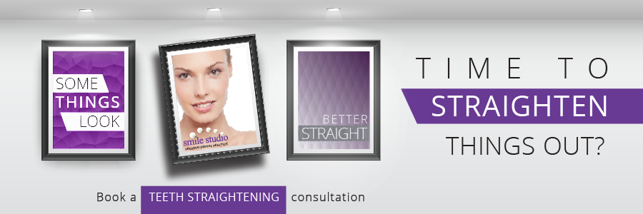 Teeth straightening offer banner
